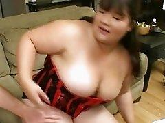 Chubby babe gets fucked hard