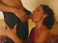 Milf slut takes it deep in the ass