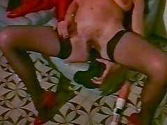 Hairy Pussied Susie Trades In Her Dildo For A cock