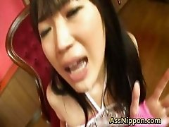 Super horny Japanese babes fucking