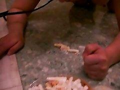 feeding a slave