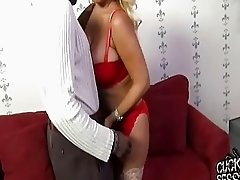 Bridgette B gets banged by a horny black guy