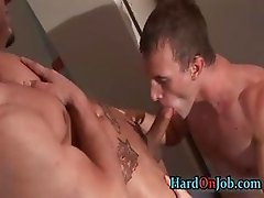 Cameron and Penix in hardocre gay cock part1