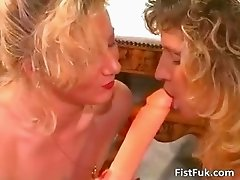 Two mature lesbian sluts having wet fun part2
