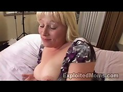 Amateur Blonde Whore w Big Tits Fucks Big Black Cock