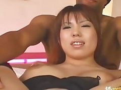 Asian asshole toyed hardly