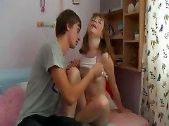 Russian teenagers enjoy fucking