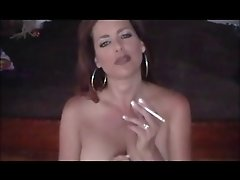 Hot Babe Smoking 120s and Teasing (JOI)