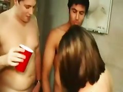 College horny students sex in hall