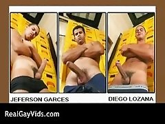 Awesome Latino gay hunks threesome part6