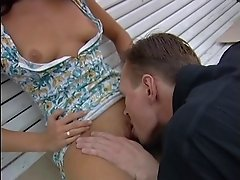 Amateur Blonde Fucked in Public St. Petersburg