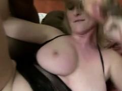 Blonde Black Cock Anal