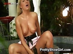 Blond slutty babe working on a huge part5