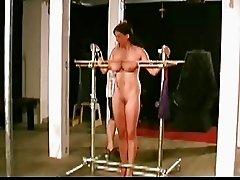 Tormented big tittied girl