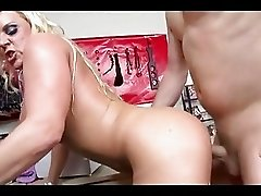 After a dick hammering,Alexis Golden gets her moist lips dripped with cream