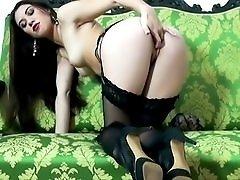 Black Garter and Stockings