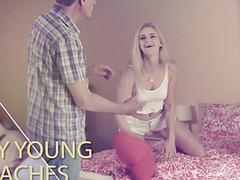 College Teens Pillow Fight Share Grandpa Teacher