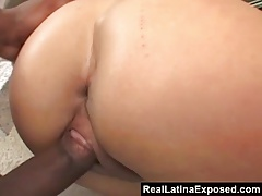 RealLatinaExposed  Casandra Cruz Rides a Big Black Cock