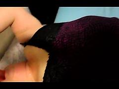 Toying homemade pov amateur slut enjoys pussy playing action