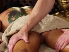 shocking massage actions from voyeur camera