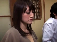 Big breasted Japanese beauty knows her way around a cock