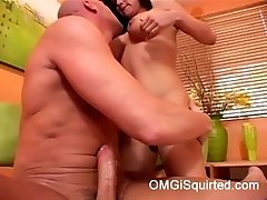 Nadia Styles squirts like crazy