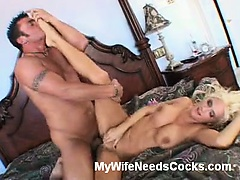 Rhyse Richards is a nasty blonde wife that every guy dreams