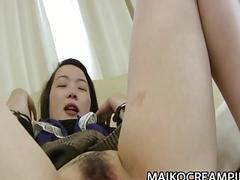 Asami Sawai  JAV Milf Pussy Aching From Rough Sex