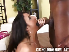 This hung black stud can fuck me for hours on end