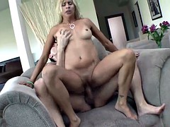 Blonde milf payton leigh gets caught