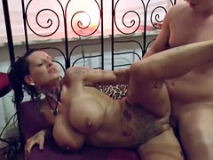 german monster tit milf seduce to fuck after massage