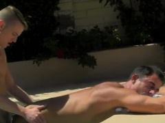 Blond boys get naked gay first time Alex is liking the sun o