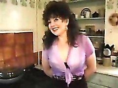 British mum in black lingerie fucked in her box