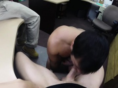 Straight guy gets anal bareback and mouth fucked