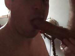 Bryon sucks cock