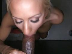 Chick charms with explicit cock engulfing