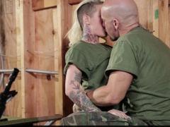 Badass tatted blonde Christy Mack has an affair with a