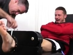 Young guys having gay sex sauna xxx Kenny Tickled In A Strai