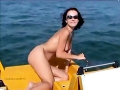Magda 03 - vaca - Italy - Bibione - naked sunbathing