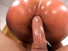 Great Big Round Bottom Candice Dare Fucked Doggystyle