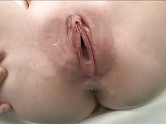 Whore begs for her creampie