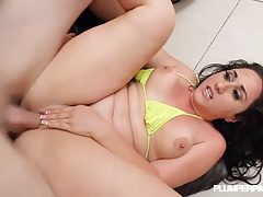 Big Booty PAWG Vanessa Blake Rides JMACS Huge Cock