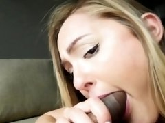 Avalon Heart Giving Blowjob to Big Penis