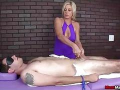 Dominant Babes Bondage Makes Poor Guy Immobile