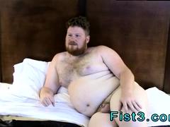 Naked gay long hair Say Hello to Fisting Bottom, Brock!