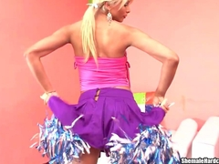Shemale Cheerleader A For Anal