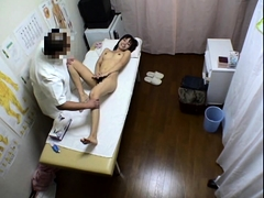 Cute Asian babe is made to enjoy pure pleasure by a masseur