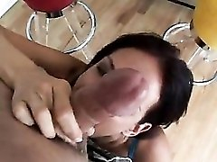Tory Lane gives him a hell of a blowjob