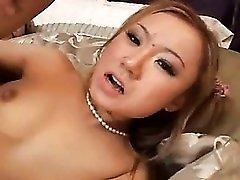 Asian slut takes it up the ass hardcore