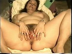 Annette Van De Venn Shows You Her Very Wet Pussy